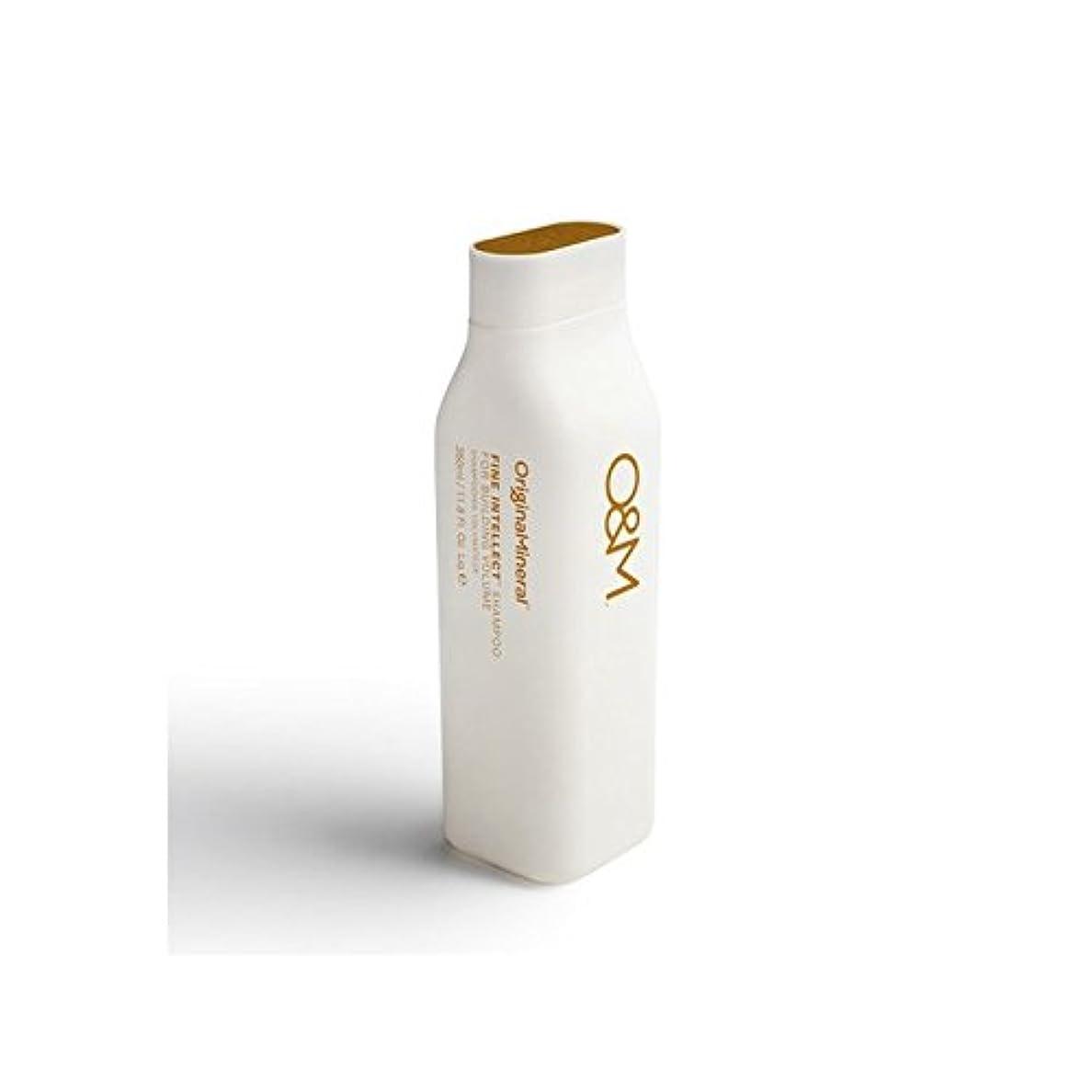 実験的テザー偽物オリジナル&ミネラル細かい知性シャンプー(350ミリリットル) x4 - Original & Mineral Fine Intellect Shampoo (350ml) (Pack of 4) [並行輸入品]