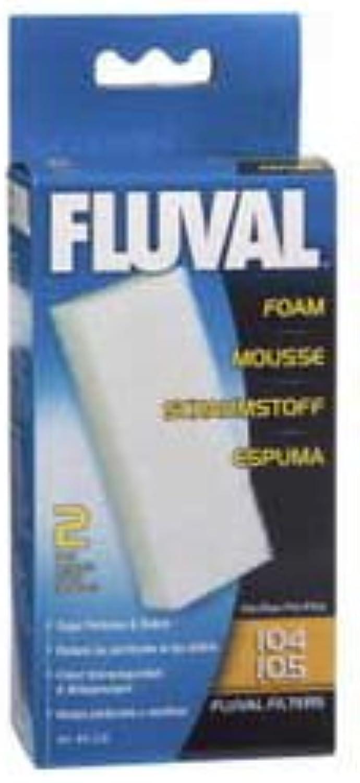 10 Pack x  Hagen  Fluval 104 105 Foam Filter Block