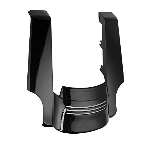 AQIMY Motorcycle Rear Fender Extension Stretched Filler for Harley Street Glide Road Glide 2009-2013