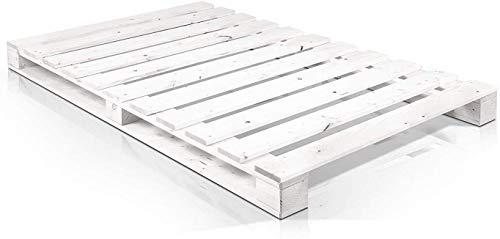 Somier & Cama de palets Individual de 105 cm- Somieres de pallets juveniles para colchones de 105 x...