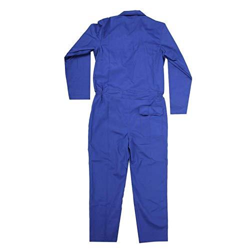 Feuerfeste Kleidung Stehkragen Sicherheit Arbeitskleidung, zum Schweißen, für Schweißerarbeiten(XL)