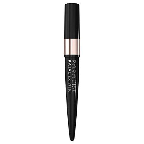 L: Oréal Paris Paradise Extatic Kajal – langdurige zwarte 3-in-1 eyeliner, eenvoudig en nauwkeurig aan te brengen, ook als oogschaduw of in de waterlijn, per stuk verpakt (1,5 g).