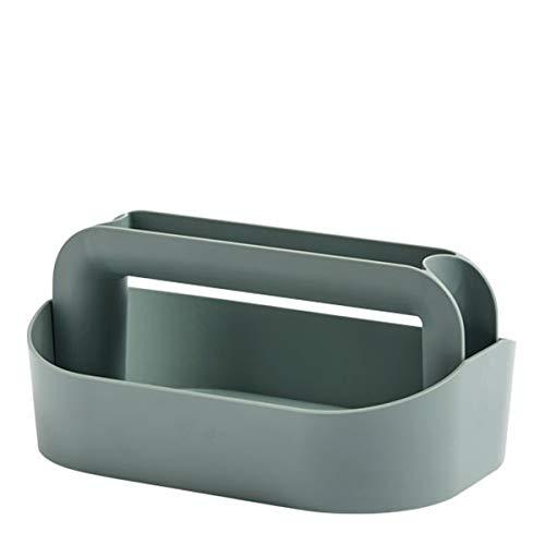 Hay Schreibtischorganzier Tool Box Dusty green, Grün, 30,5cm