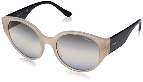 Ray-Ban 0VO5245S Occhiali da Sole, Multicolore (Opal Light Rose/Serigraphy), 53 Donna
