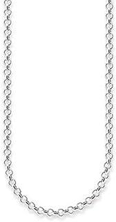 Thomas Sabo Collar de Mujer, Plata de Ley 925, Plateado