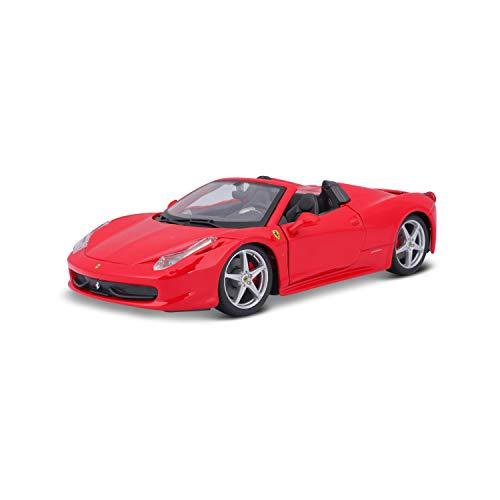 Ferrari - 458 Spider, vehículo (Bburago 18-26017) , color/modelo surtido