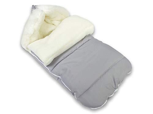 BlueKitty Fußsack, Winterfußsack, Schlafsack, Wolle, Schlitten, Wasserdicht, Wasserabweisend, Winter, Herbst, 100 cm