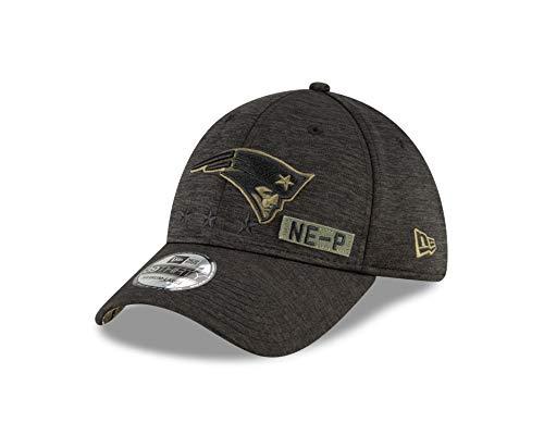 New Era New England Patriots - 39thirty Cap - Salute to Service 2020 - Black - S-M (6 3/8-7 1/4)