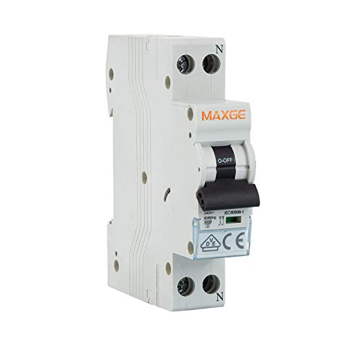 LEDKIA LIGHTING Interruptor Automático Residencial 1P+N-6kA 1 Módulo DPN 16A 1 + N