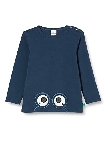 Fred'S World By Green Cotton Alfa Peep T Baby T-Shirt, Minuit, 98 Bébé garçon