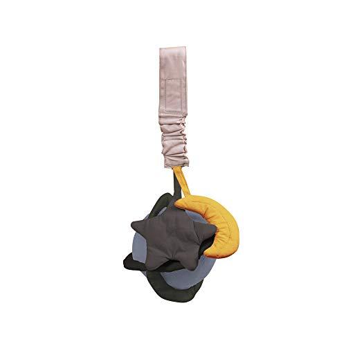 Filibabba Planetas - Campanilla para niños y niñas, algodón orgánico (campana gris)