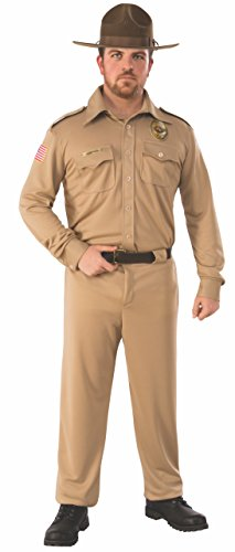 Stranger Things Sheriff Jim Hopper Adult Costume - X-Large