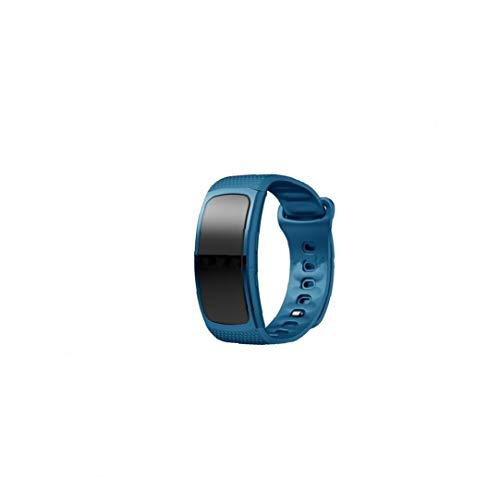 YZLSM Silikon-uhrenarmbänder Armband Für Getriebe Fit2 Für Frauen-männer (blau, L) Flasche Gang Silikon