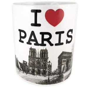 DESSAPT EDITIONS L ART DU SOUVENIR - Mug Paris I Love Monuments - Collection Souvenirs de Paris - Made in France