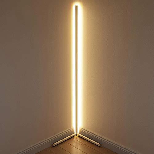 DKHF Stehlampe LED Stehleuchte Ecke LED Stehleuchte Bunte Schlafzimmer Lampe Atmosphäre Beleuchtung Club Home Interior Ecklampe