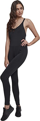Urban Classics Damen Jumpsuit Ladies Tech Mesh, Schwarz - 3