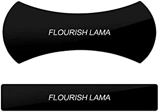 Flourish Lama Sticker, Nano Rubber Pad, No Trace Multi-Function Mobile Phone Holder Car Kits Car Bracket Pods