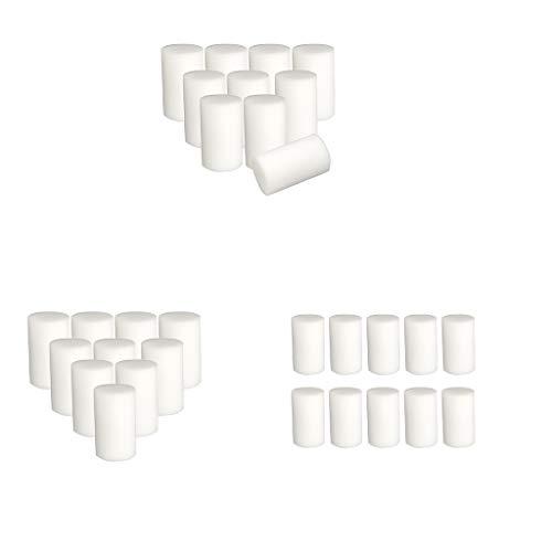 Baoblaze Cubiertas de Espuma de Rodillo de Pintura de Pared de 30x6 Cm Recambios Hogar Liso Y Plano