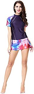 Swimwear Set For Women - Black, Purple and pink