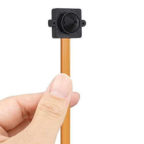 Cámara oculta inalámbrica 720P HD – Videocámara espía Espia Espia Estenope Soporte Teléfono Inteligente Visión Distancia, Grabación Continua 24/7 Días, Tarjeta de memoria 16 GB integrada