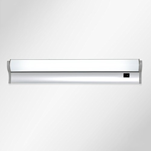 Soarl Badkamerspiegellamp, led-spiegellicht, moderne minimalistische badkamerspiegel, commode, TL-lamp met schakelaar [energieklasse A ++]