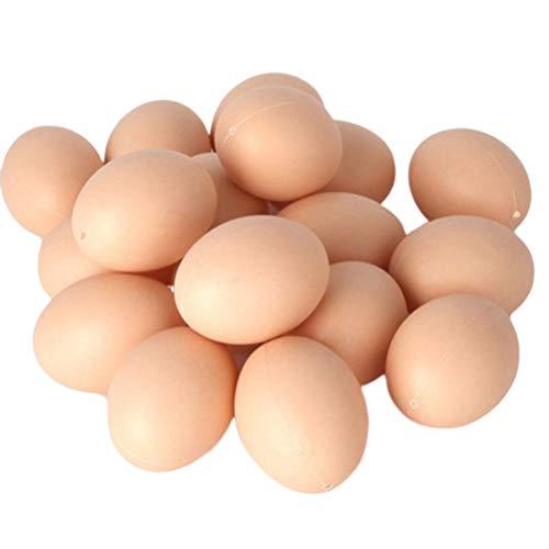 Huevos de madera para jugar