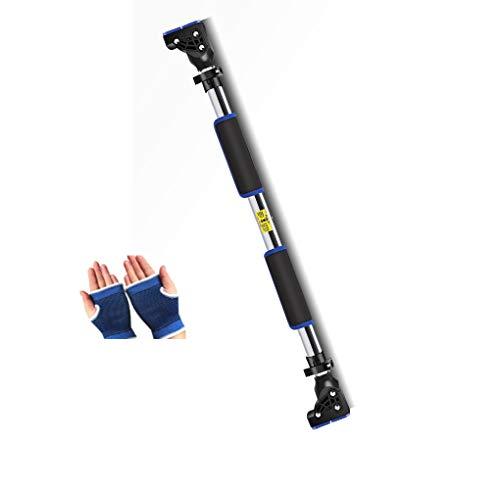 Thole Klimmzüge Hängestange Form Körper Wand Punch-Free Sportartikel Fitnessgeräte,Blue,130-170cm