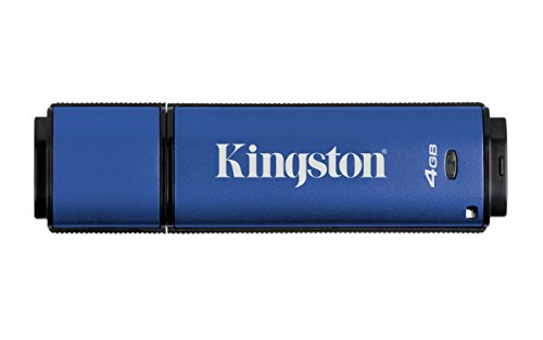 Kingston DTVP30 4GB Speicherstick USB 3.0, blau