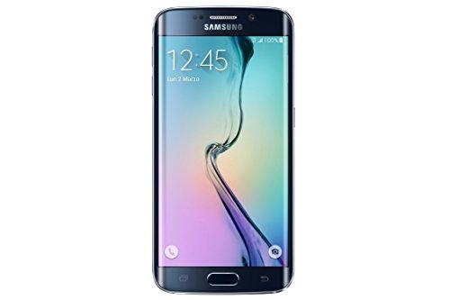 Samsung G925 Galaxy S6 edge Smartphone débloqué (Ecran: 5.1 pouces) Noir (import Italie)
