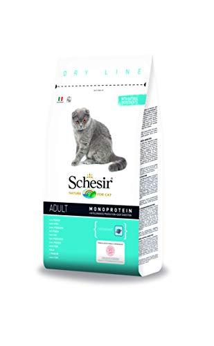 Schesir cat Secco Mantenimento con Pesce 1,5kg-Mangimi secchi per Gatti, Multicolore, Unica