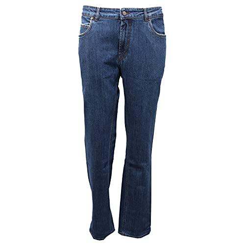 Fay 0356AF Jeans Pantalone Uomo Blue Denim Trouser Men [40]