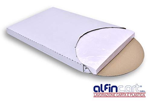 Global Plastics - Lote de 500 hojas de papel sulfurizado para cocinar o congelar (40 x 60 cm)