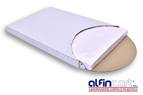 Global Plastics - Lote de 500 hojas de papel sulfurizado