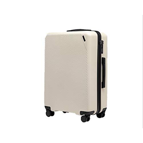 JSY But I Pull the pole Box - Maleta de viaje universal con cremallera, el mismo tipo de juegos de equipaje de gran capacidad (color: A, tamaño: 24)