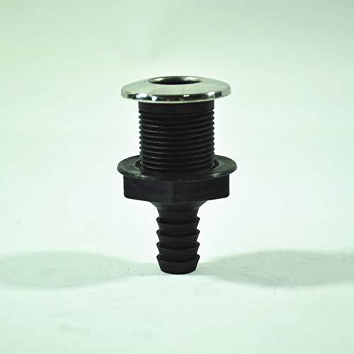 YKK Rei/ßverschluss grau 18 cm f/ür Hosen Hosenrei/ßverschluss 4 mm Metallz/ähne br/üniert dunkles Messing