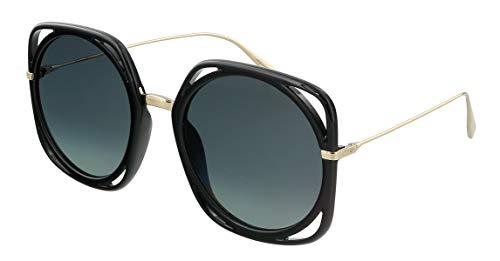 Dior Sonnenbrillen Direction Black/Grey Shaded Damenbrillen