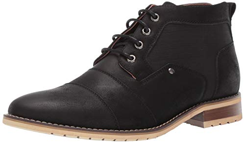 Ferro Aldo Blaine MFA806035 Mens Casual Brogue Mid-Top Lace-Up and Zipper Boots