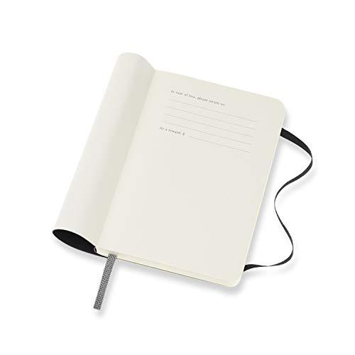 モレスキン手帳2021年1月始まり12ヶ月ウィークリーダイアリーホリゾンタル(横型)ソフトカバーポケットサイズブラックDSB12WH2Y21