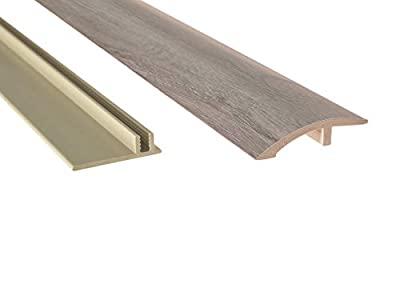 """NewAge Products Gray Oak 46"""" Multi-Purpose Reducer, Flooring Accessory, 12041"""