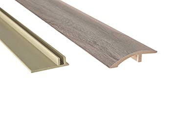 NewAge Products Gray Oak 46  Multi-Purpose Reducer Flooring Accessory 12041