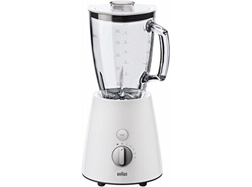 Braun JB 3060 WHS Tribute Collection Standmixer, weiß