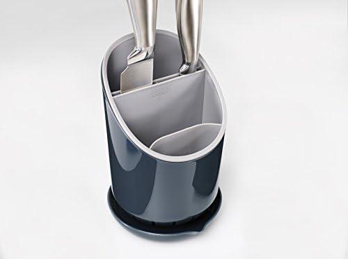 Amazon.com: Joseph Joseph Dock Cutlery Drainer and Organizer, Dark  Grey/Grey: Home & Kitchen