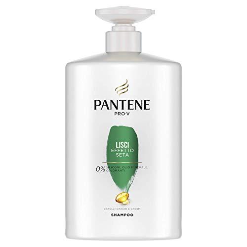 Pantene Pro-V Shampoo Lisci Effetto Seta, Morbidezza e Controllo Dell'Effetto Crespo, Maxi Formato da 1000 ml
