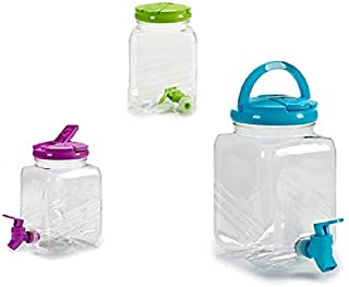 takestop® - Dispensador para Botellas de plástico de 2,5 l con Grifo,