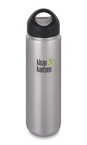 Klean Kanteen Wide Mouth Single Wall Stainless Steel Water...