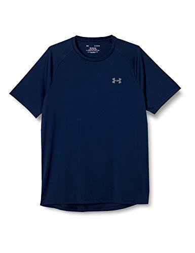 Under Armour Men's Tech 2.0 Short-Sleeve T-Shirt , Academy Blue (408)/Graphite, Medium