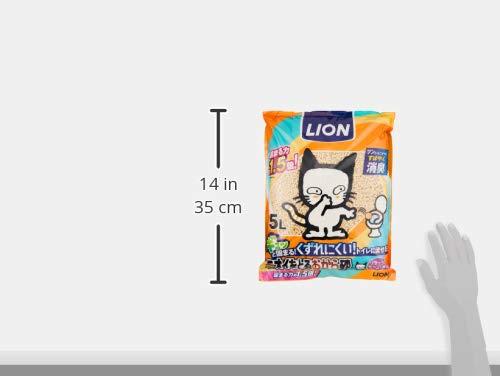 ニオイをとる砂猫砂ニオイをとるおから砂5Lx6袋(ケース販売)