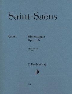 HENLE VERLAG Sonate op 166 - arrangiert für Oboe - Klavier [Noten/Sheetmusic] Komponist: Saint Saens Camille