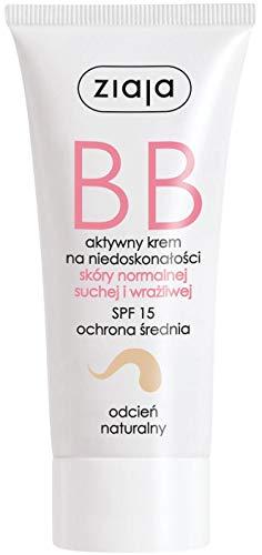 Ziaja BB Creme für normale, trockene und empfindliche Haut - natürliche Tönung 50ml