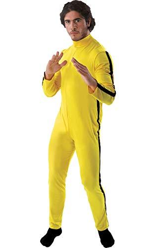 ORION COSTUMES Kung Fu Kämpfer Kostüm Karneval Fasching Verkleidung Herren